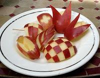 retsepty i gotovka  Как красиво нарезать Яблоки и фрукты на стол с Фото, картинками и фотографиями фото