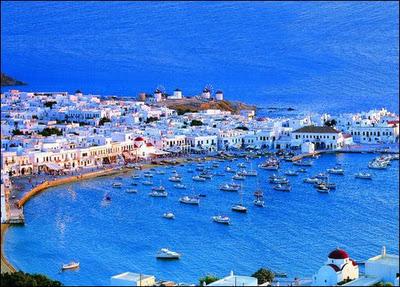 Миконос, остров миконос, Греция