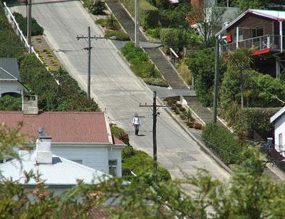 Болдуин Стрит, Данидин, Новая Зеландия, необычные улицы