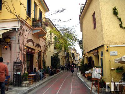 Монастираки, Греция, Афины