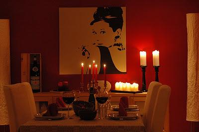 романтический ужин, вечер, на двоих