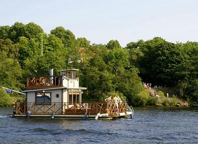 Сауна - лодка: 2 в 1 для Вашего отдыха