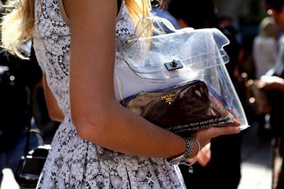 прозрачная сумка, сумка 2012, модная сумка