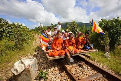 Бамбуковый поезд - часть истории, находящаяся под угрозой