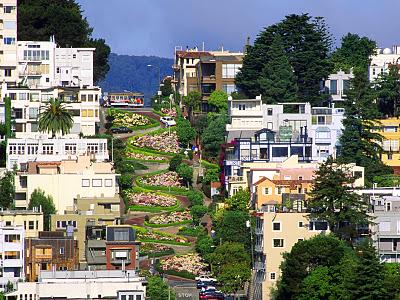 Ломбард-стрит, Сан-Франциско, необычные улицы