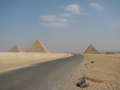 Дорога в Гизу, необычные дороги