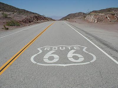 Маршрут 66, США, дорога 66, необычные дороги