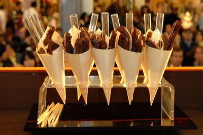 Le Salon Du Шоколад в Париже, Франция