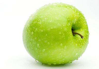яблоко, зеленое яблоко