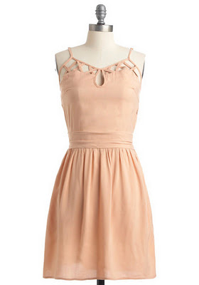 Персиковое платье  JACK BY BB DAKOTA
