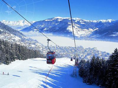 Лучший горнолыжный курорт, который может предложить Вам разные развлечения - Цель-ам-зе, Австрия (ZELL AM SEE, AUSTRIA)