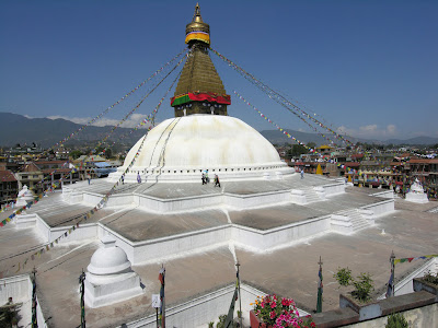 5. Буддийский Храм BOUDHANATH