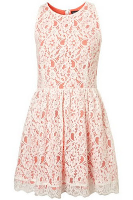 Кружевное платье TOPSHOP