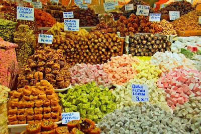 Рахат - лукум (турецкие сладости)