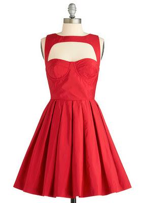Красное платье BB DAKOTA CRIMSON