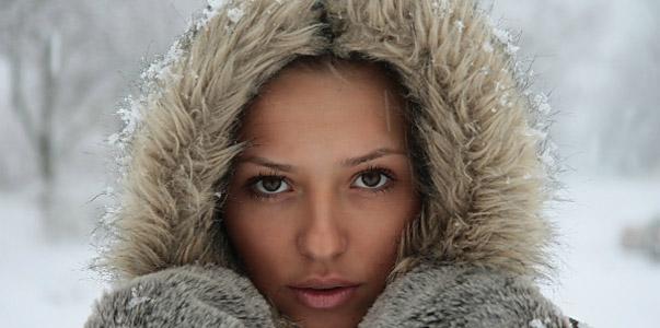 Красивый цвет лица в непогоду