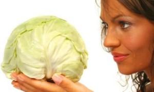 Использование капусты в косметических целях