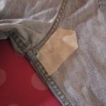 Заплатка на джинсы фото