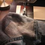 Зашиваем джинсы фото