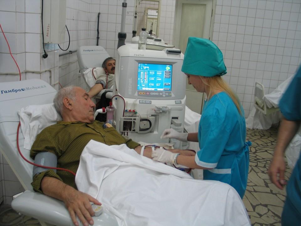 диабетический центр в больнице рыбаков