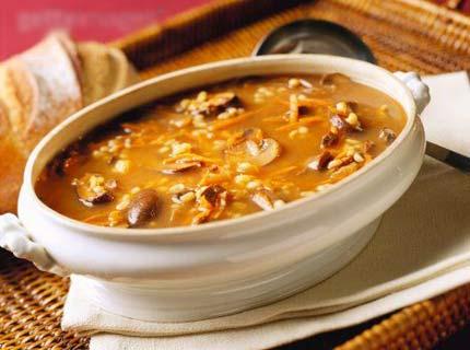 Гороховый суп с грибами – вкусный рецепт