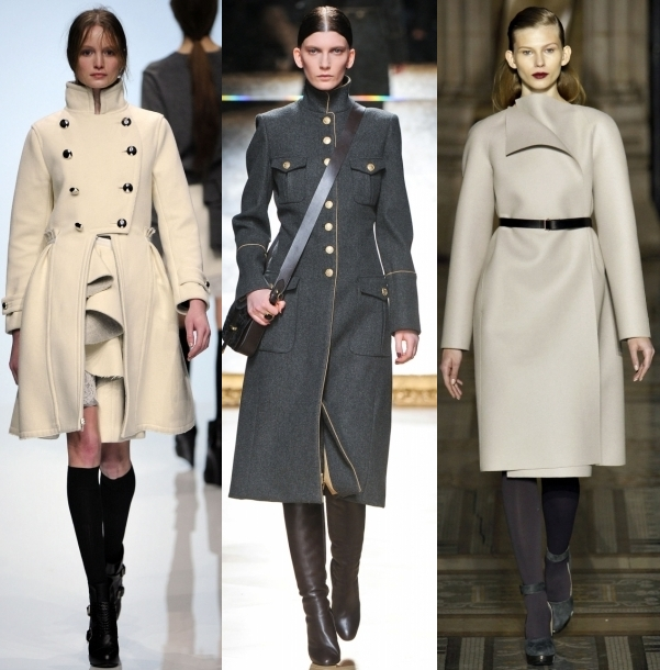 Кашемировое классическое пальто фото
