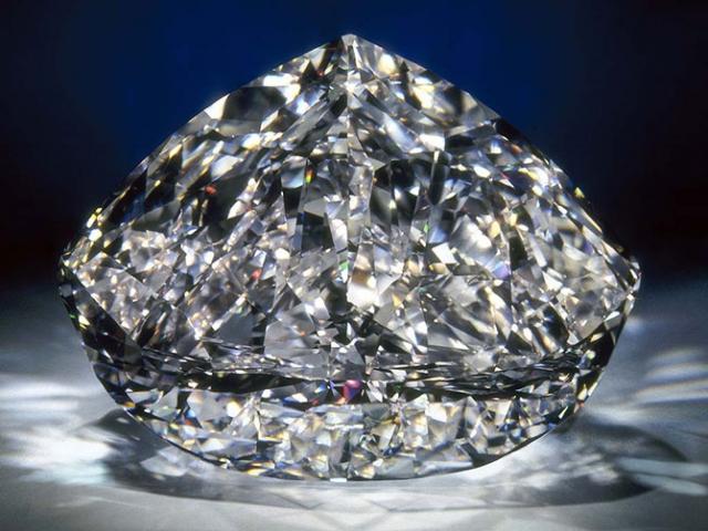 Самый большой в мире бриллиант фото
