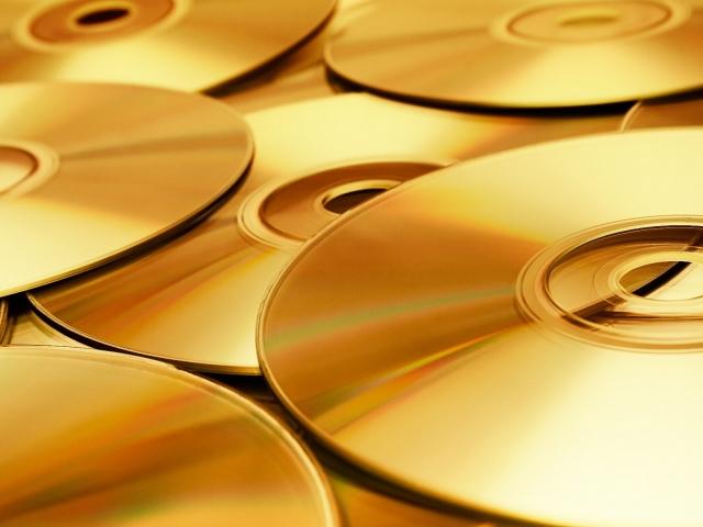 Золотые диски фото