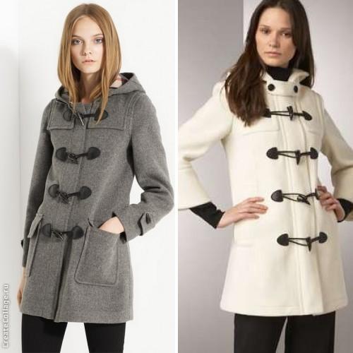 Пальто с застежками фото