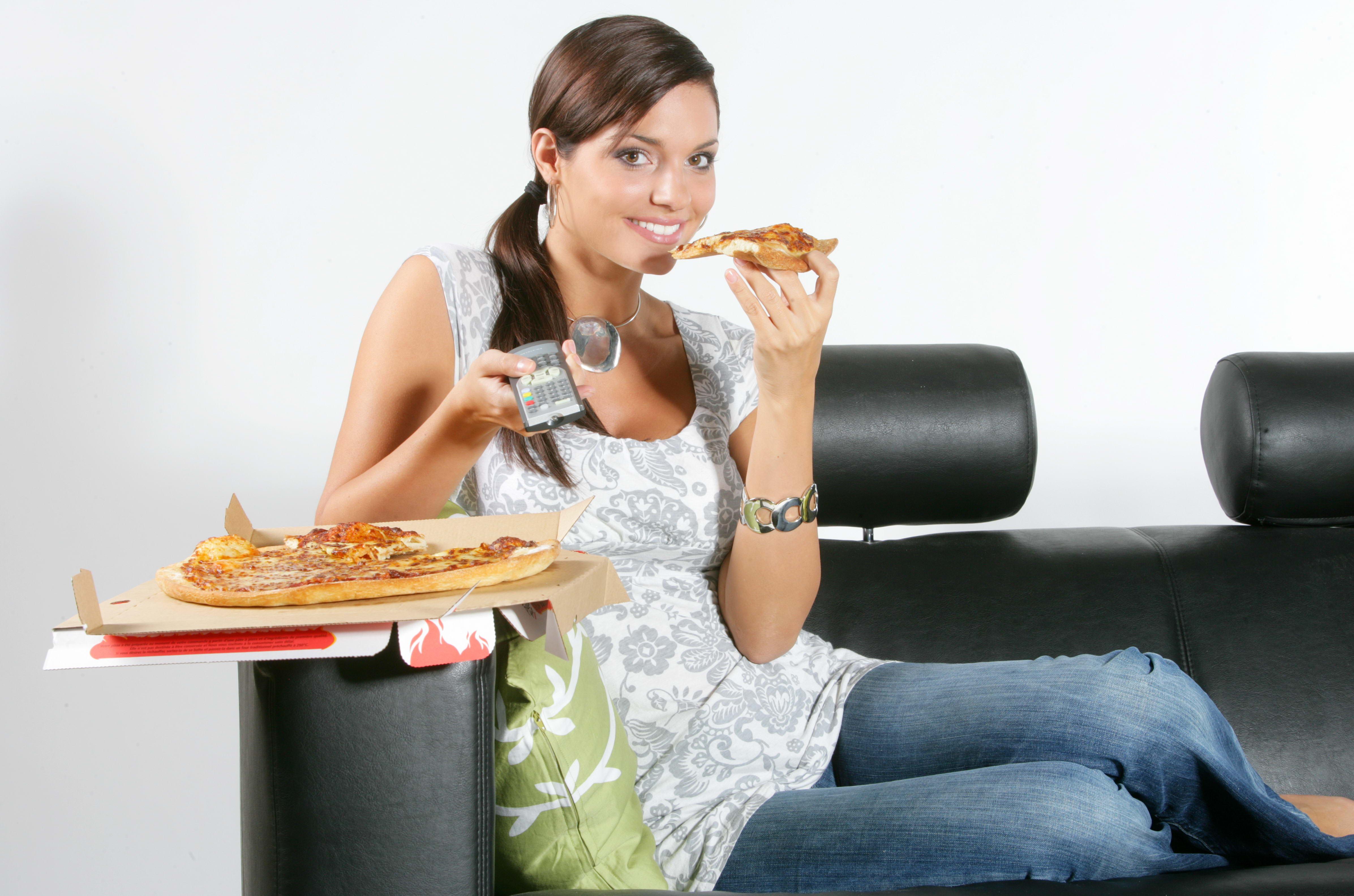 Секс с девушкой из доставки пиццы 8 фотография