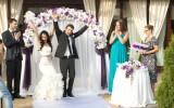 Веселая свадьба фото