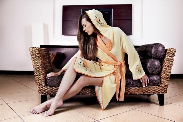 Стильный халат фото