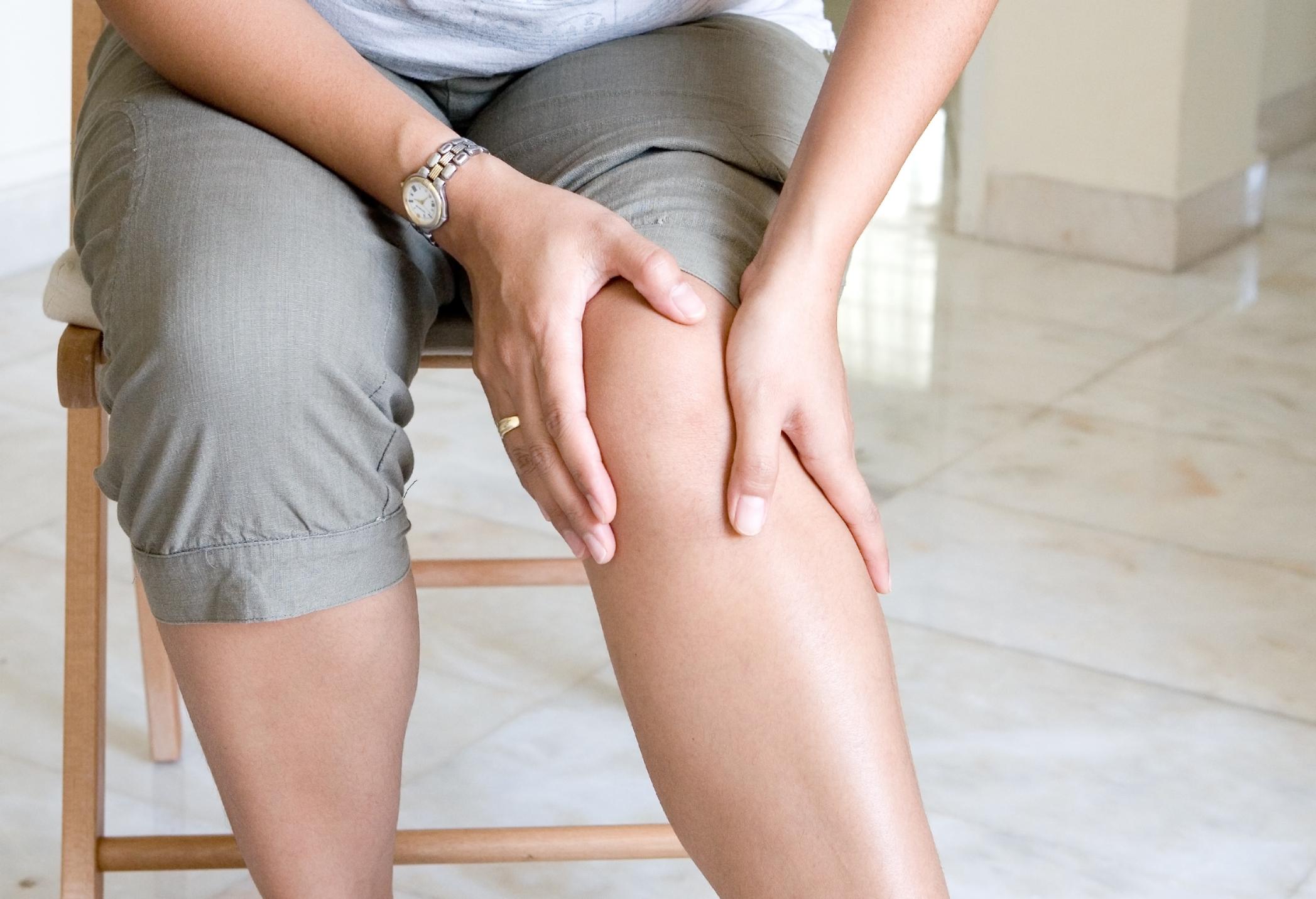 Артроз колена фото