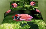 Постельное белье с розами 3д фото