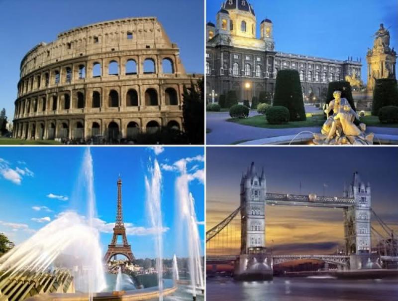 Достопримечательности Европы фото
