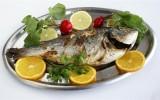 Рыба на блюде фото