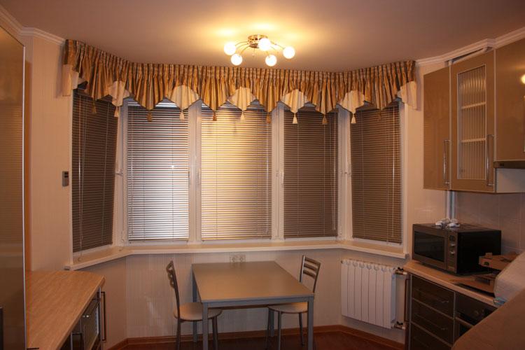 Шторы на эркерный балкон. - шторы - каталог статей - шторы и.