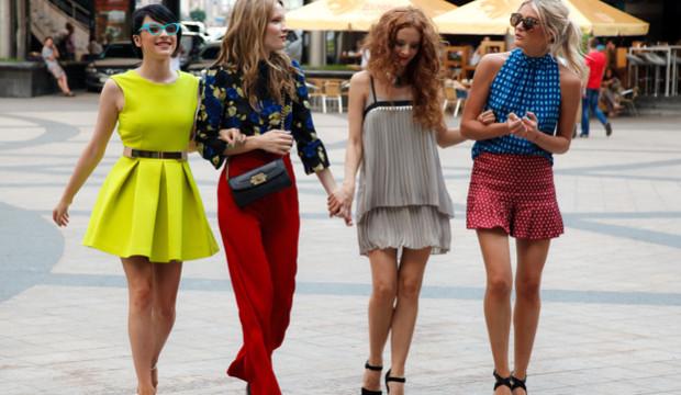 Модные девушки фото