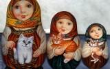 Куклы-матрешки фото