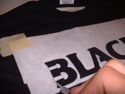 Трафарет на футболку 177