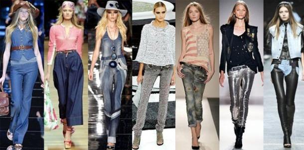 Женские джинсы скинни и капри