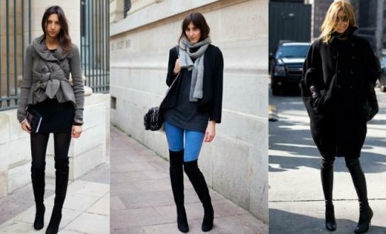 осень зима обувь