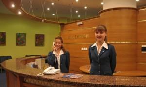 Работа в гостинице