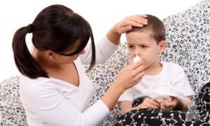 насморк у ребёнка лечение