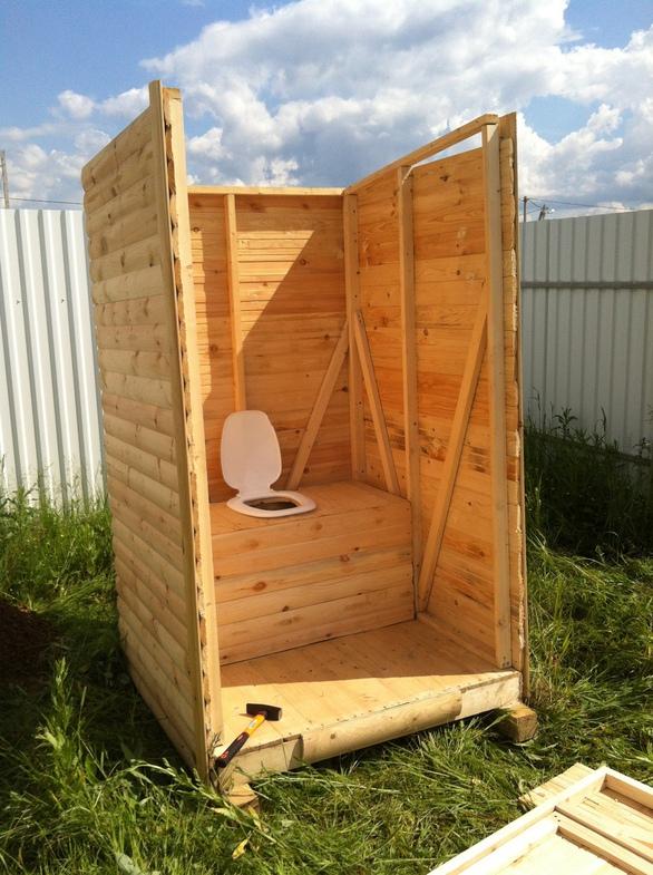 Простейший туалет для дачи