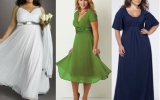 Какие платья подходят полным женщинам
