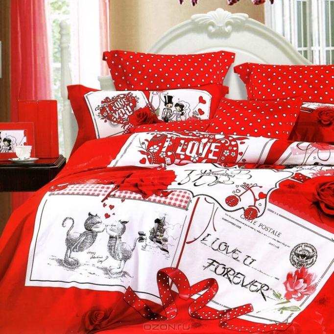 Поздравление на свадьбу постельное белье