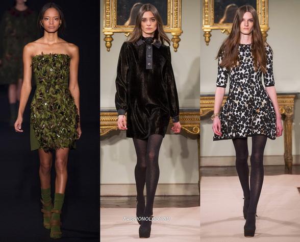 Мода 2015 зима — платья