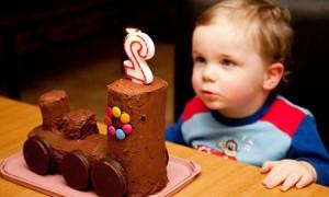 Торт на День рождения малыша