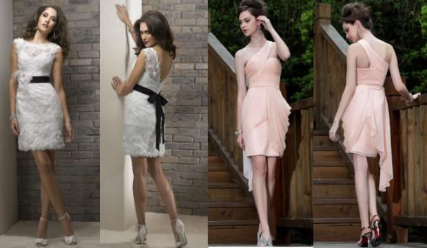 Короткие платья на выпускной 2015